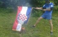 U Vitezu spaljena Hrvatska zastava, u Sarajevu vatromet i proslava poraza Hrvatske