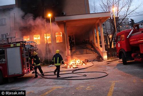 IMENA: Policija objavila tko je palio Mostar u veljači