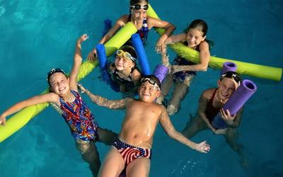 Škola plivanja prvi put u Grudama