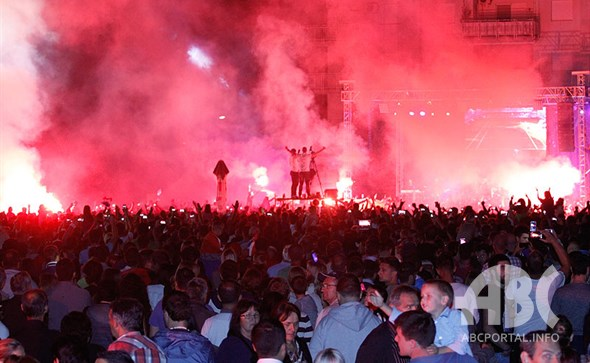 MEĐUGORJE: Preko dvadeset tisuća ljudi na velikoj proslavi u čast Marina Čilića