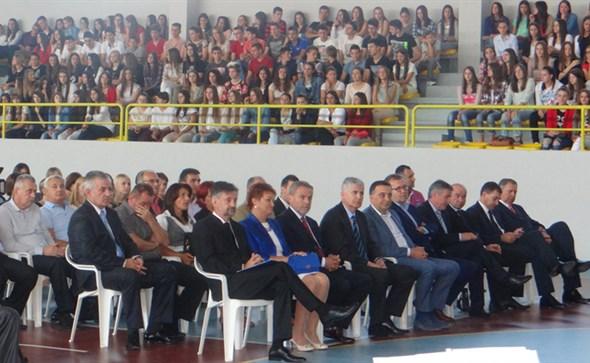 Čović i Bandić na obilježavanju 50. godišnjice osnutka Gimnazije A. B. Šimića u Grudama