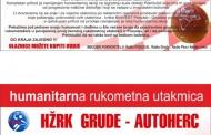 Humanitarne rukometne utakmice za izgradnju kuće obitelji Petrićušić