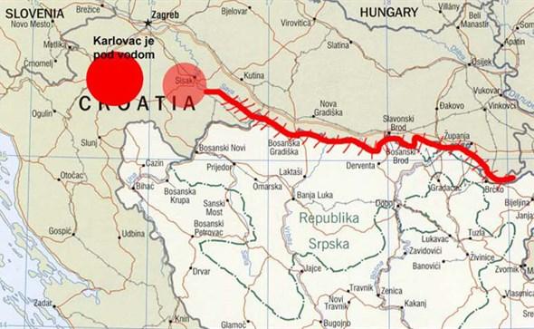 Vodeni val ide prema BiH: Ova mjesta mogla bi biti pod vodom u sljedećih 48 sati