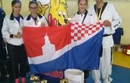 """TAEKWODNO: Na međunarodnom turniru """"Poskoci"""" osvojili tri zlata i srebro"""