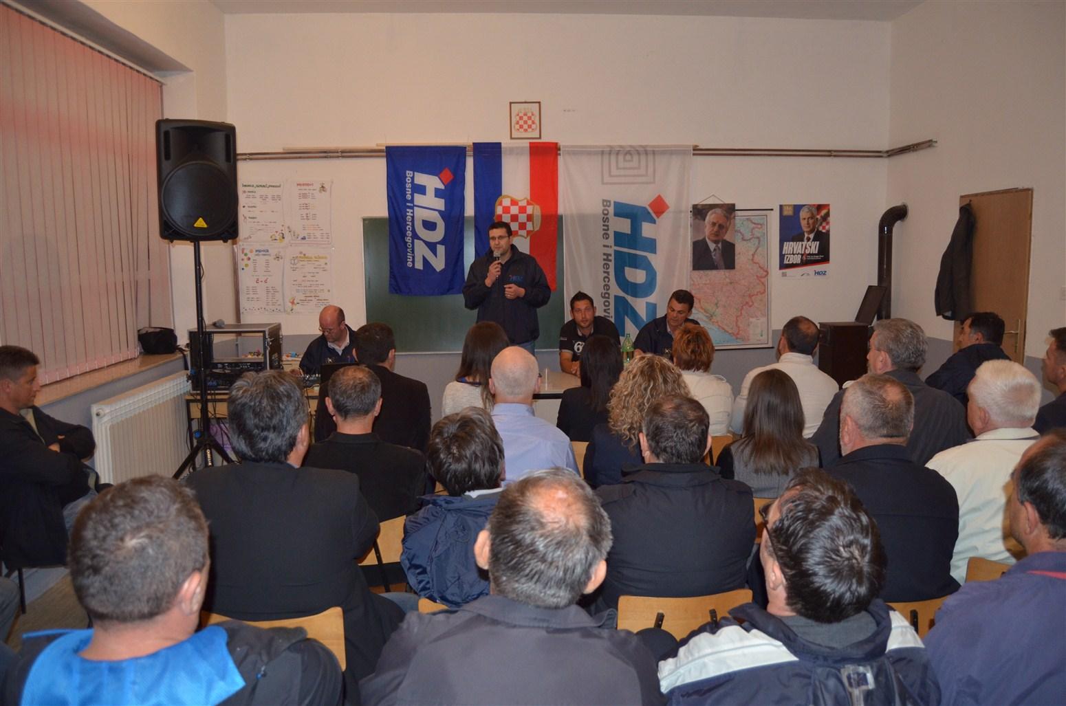 BATIN: I na posljednjem skupu HDZ BiH i HNS potvrdili nadmoć nad ostalim strankama