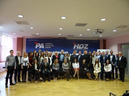 Održana svečana promocija III. generacije PA HDZ BiH