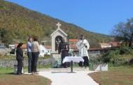 Blagoslov kapelice u Lekinoj dragi