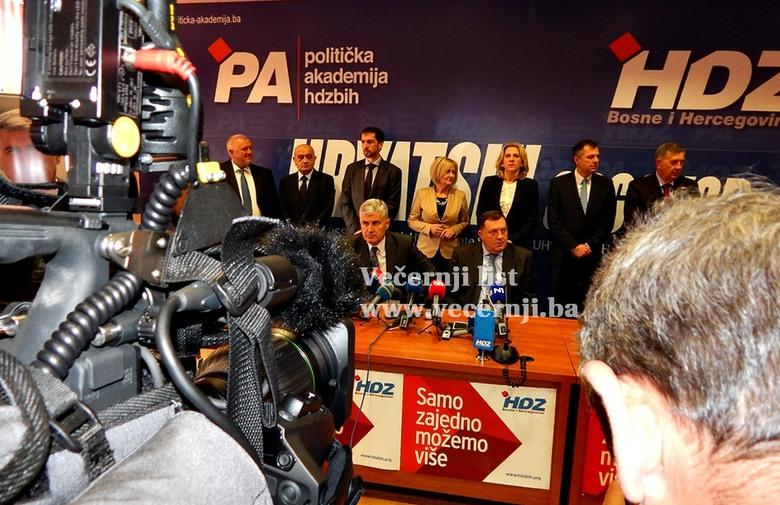 HDZ BiH i SNSD okosnica vlasti, čeka se na Bošnjake