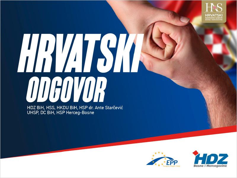NAJAVA: Središnji predizborni skup HDZ-a i HNS-a BiH u Mostaru