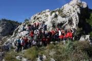 Članovi HPD-a Pločno na Danu planinara Splitsko-dalmatinske županije
