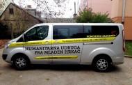U sklopu višemjesečne akcije: Humanitarna udruga fra Mladen Hrkać kupila prilagođeno vozilo
