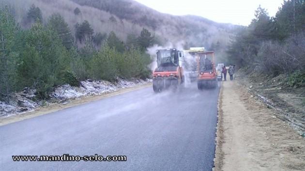 Nastavljeno asfaltiranje puta Lipa-Blidinje