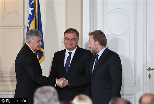 Ovo je zajednička izjava Predsjedništva o opredjeljenosti BiH za Europsku uniju