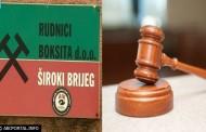 Županijski sud u Širokom Brijegu odbacio optužbe protiv 17 osoba u 'aferi boksit'