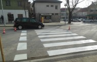 FOTO: Obnovljenje boje na pješačkim prijelazima