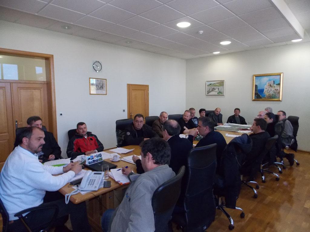 Kvalitetniji uvjeti rada posuškog HGSS-a i Profesionalne vatrogasne postrojbe u 2015!