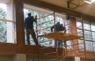 FOTO: Postavljeni novi otvori na maloj športskoj dvorani u Posušju