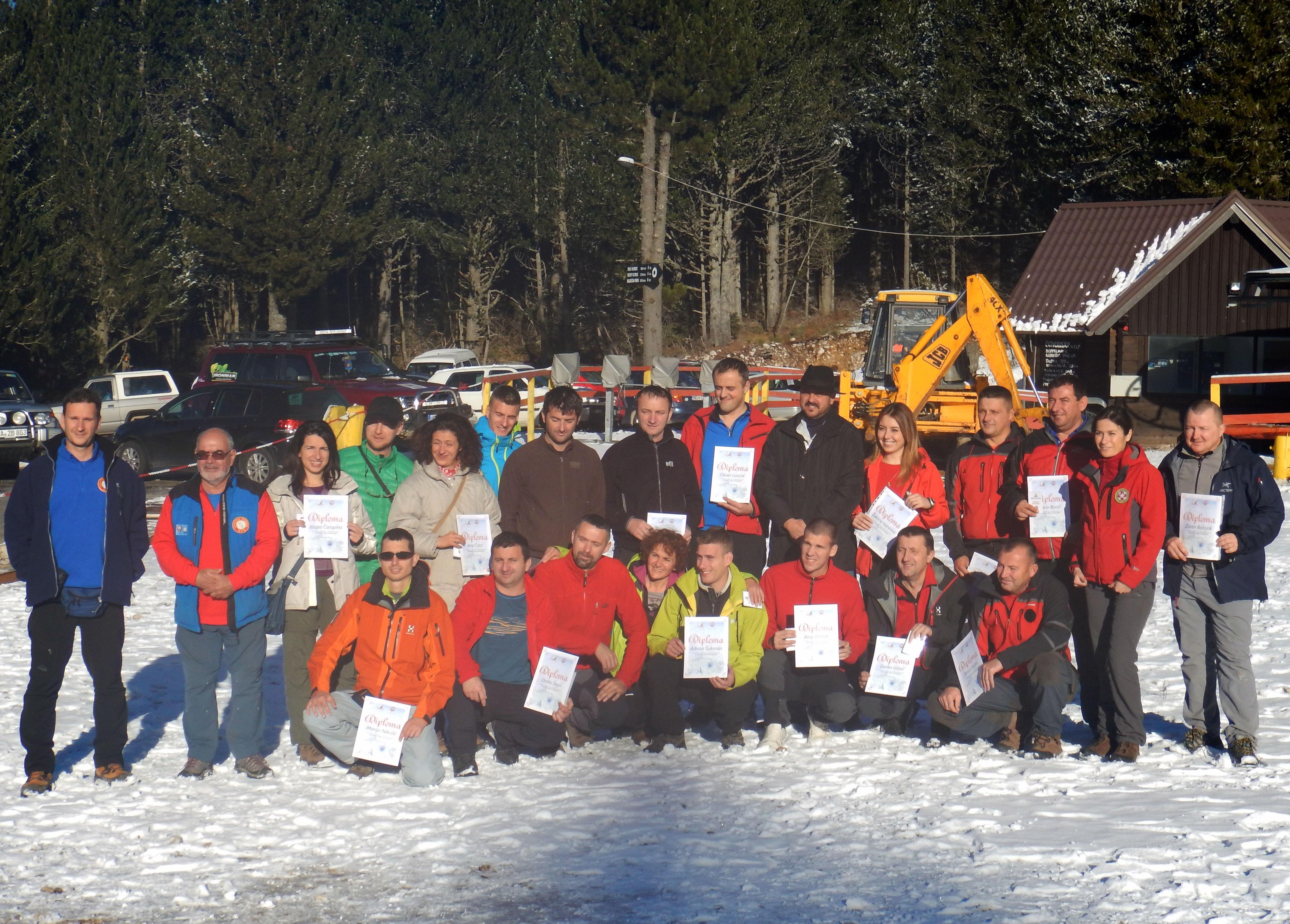 Prvi licencirani planinarski vodiči u PS Herceg-Bosne