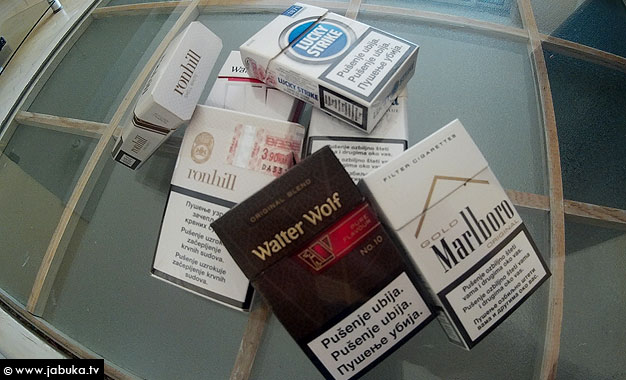 Pripadnici UNO BiH zaplijenili krijumčarene cigarete vrijedne 33.000 KM