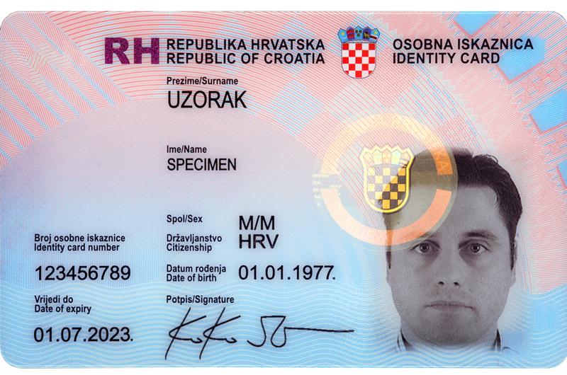 Od ovog ljeta moći ćete imati hrvatsku osobnu iskaznicu bez obzira na mjesto (državu) stanovanja