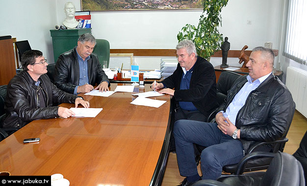 Grad Široki Brijeg i tvrtka KTM Brina potpisali ugovor vrijedan skoro 128.000 KM