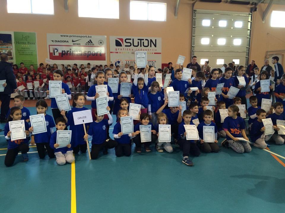 """Sportska akademija """"Posušje"""" podržala sportsko-humanitarno natjecanje u Širokom Brijegu"""