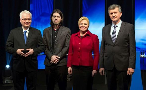 PRVO TV SUČELJAVANJE: Žestoki obračuni predsjedničkih kandidata