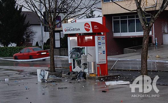 Eksplozijom razvalili pa opljačkali bankomat u Širokom Brijegu