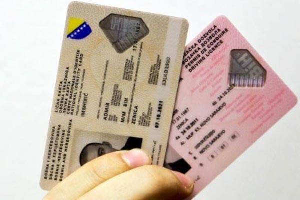 Zašto vozačka dozvola košta 60, a osobna iskaznica 18 KM?