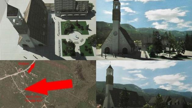 21. lipnja blagoslov kamena temeljca za ovu novu crkvu na Risovcu