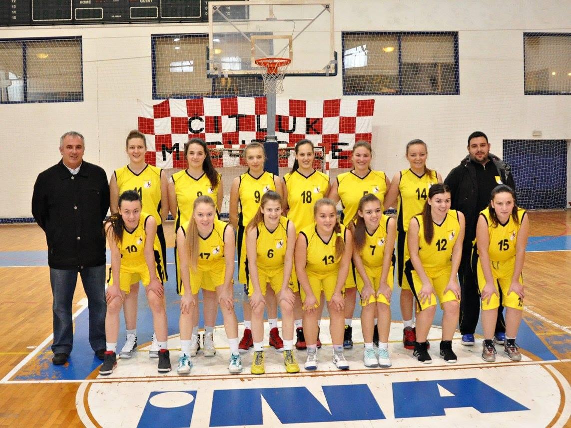 """FOTO: Košarkašice Posušja četvrte na memorijalnom turniru """"Tomo Krasić"""" u Čitluku"""