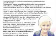 "POSUŠJE: Humanitarna rukometna utakmica ""3. G za Žanky"""