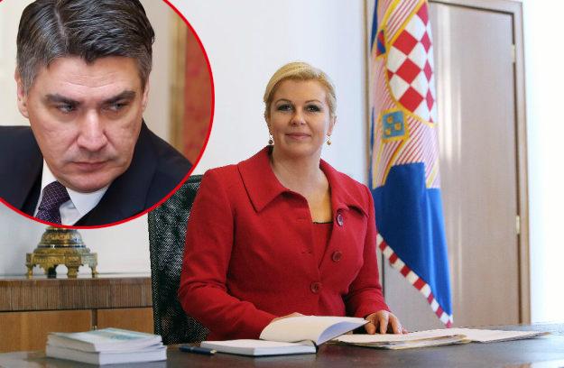 Grabar Kitarović predložila Milanovićevu ostavku