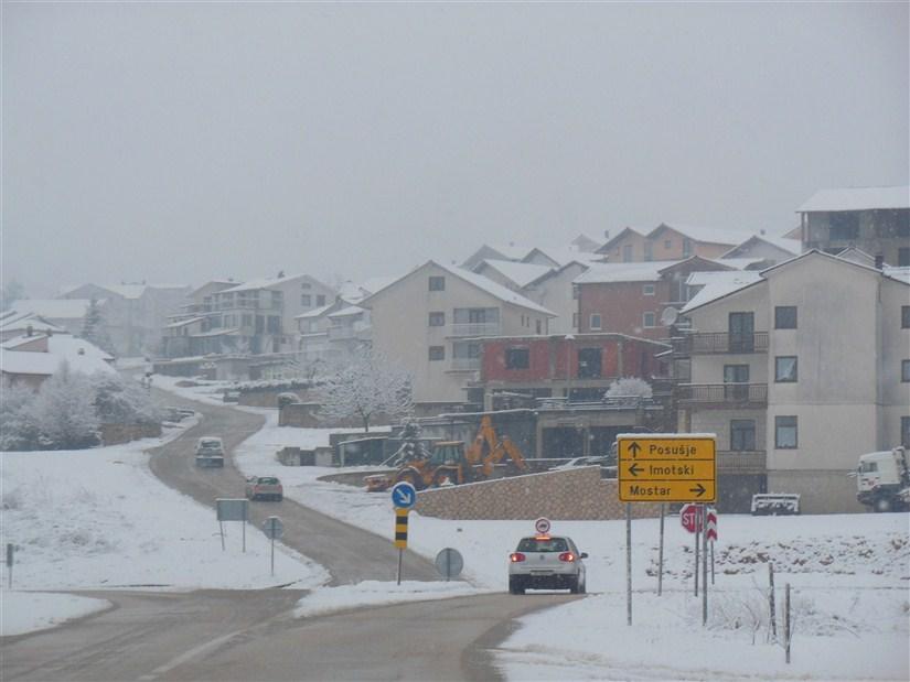 Stiže 'debeli' minus, snijeg bi mogao biti i obilniji