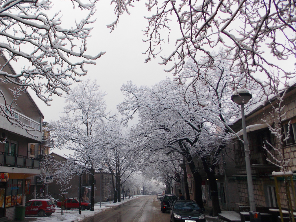 Snijeg će ipak zaobići zapadnu Hercegovinu