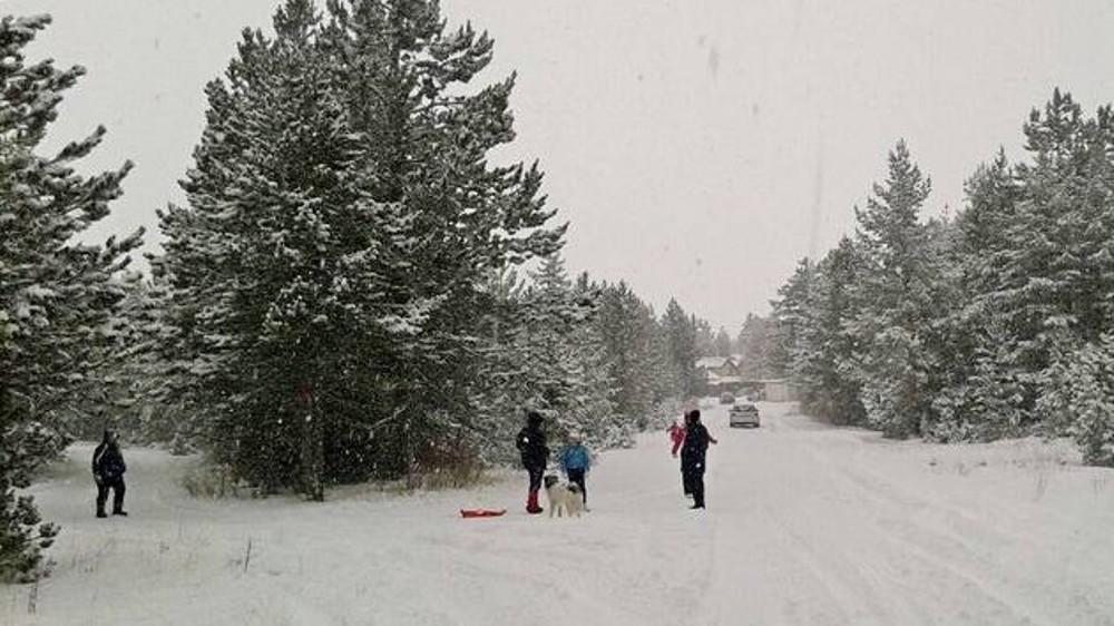 BLIDINJE: Putevi prohodni, snijega preko 80 cm