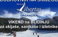 Ski klub Libertas iz Dubrovnika organizira natjecanje u skijanju na Blidinju