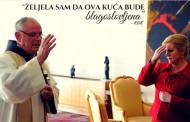 Poznati širokobriješki franjevac fra Jozo Zovko blagoslovio ured predsjednice Grabar Kitarović