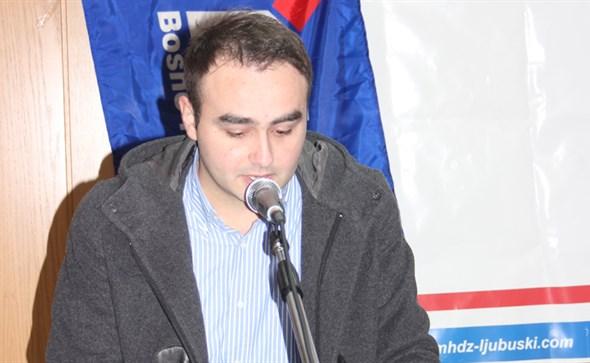 Stjepan Marić izabran za predsjednika ŽO Mladeži HDZ BiH ŽZH