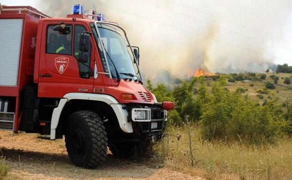 Nekoliko požara u blizini Širokog Brijega, dvije osobe završile u bolnici