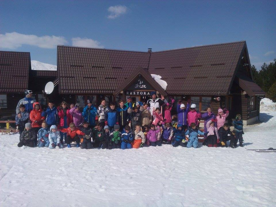 """FOTO: Sportska akademija na skijalištu """"Risovac"""" – Blidinje"""