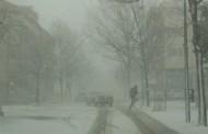 FOTO: U Posušju snijeg i bura