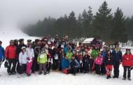 Na Blidinju održano prvenstvo u alpskom skijanju Dubrovačko-neretvanske županije