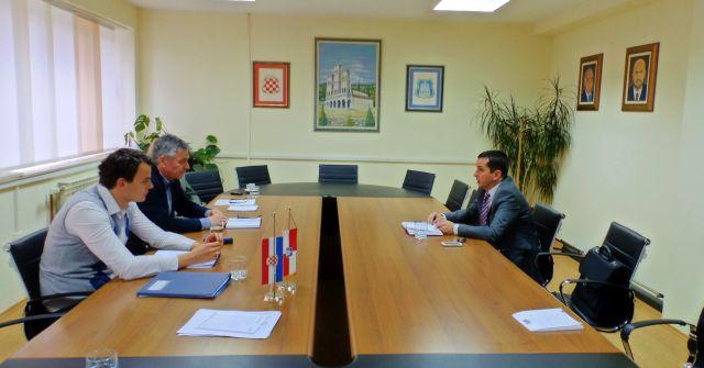 Ministar gospodarstva ŽZH Dario Sesar u posjeti općini Grude: Nastavak aktivnosti na privatizaciji društvene imovine