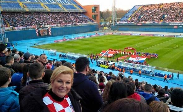 Kolindina slika u dresu Vatrenih s utakmice srušila sve rekorde na Facebooku!