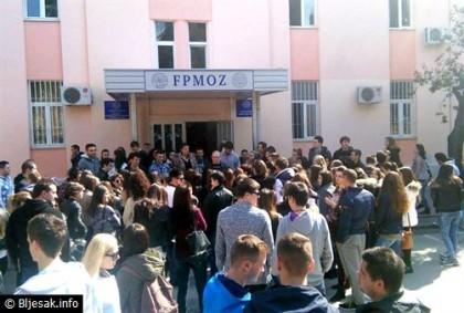 STUDENTI KONAČNO USTALI: Prosvjed zbog dodatnog plaćanja ispitnih rokova