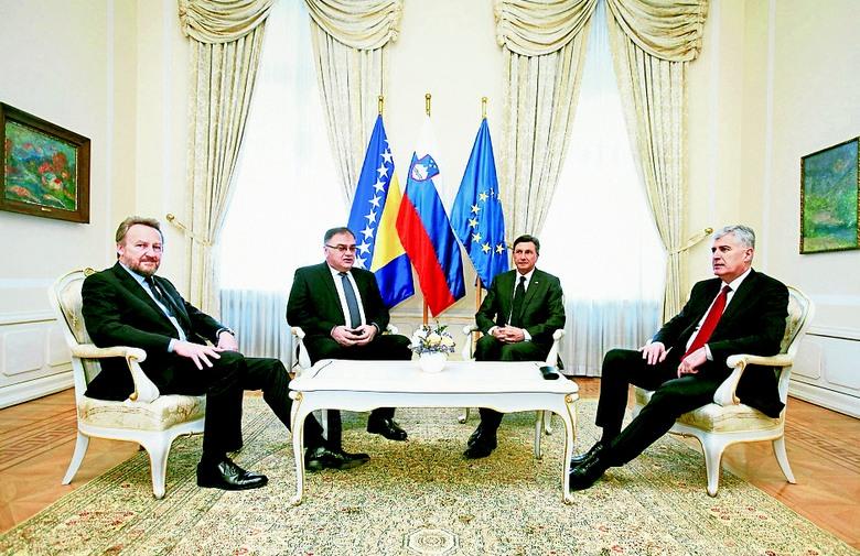 Pahor: BiH i Slovenija nemaju otvorenih političkih pitanja