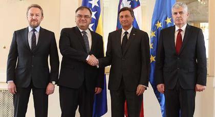 Predsjedništvo BiH započelo službeni posjet Sloveniji