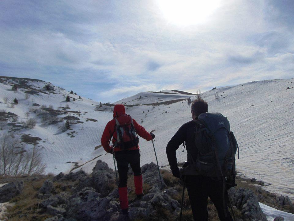 Uspon na Čabulju (vrh Velika Vlajna 1780 mnv)