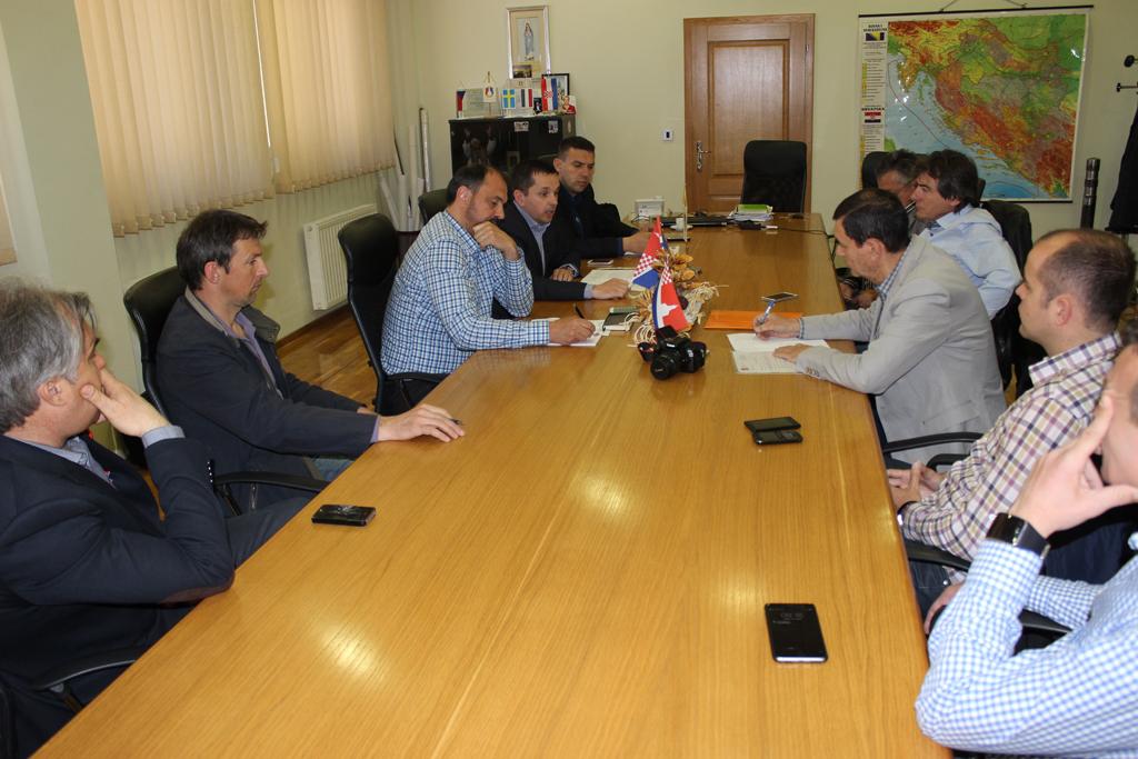 Općinski načelnik održao sastanak s Udrugom gospodarstvenika